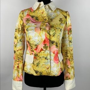 Ted Baker NWT Teapot Printed Jacket Olivia Size 1